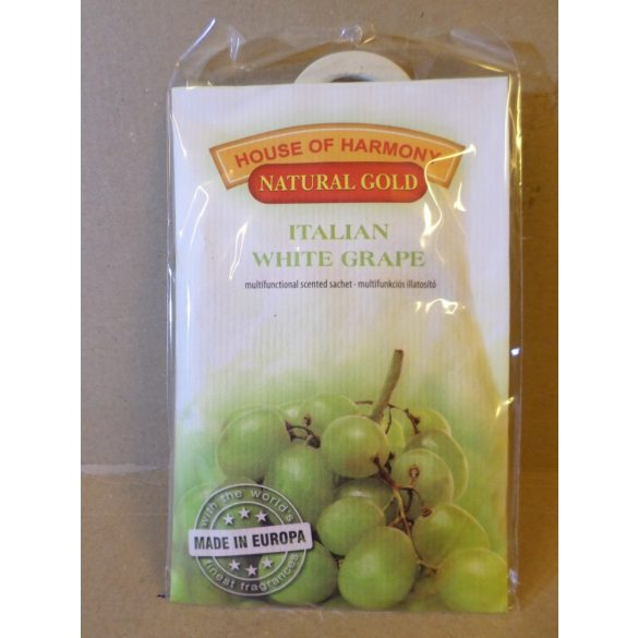 ITALIAN WHITE GRAPE TASAKOS ILLATOSÍTÓ