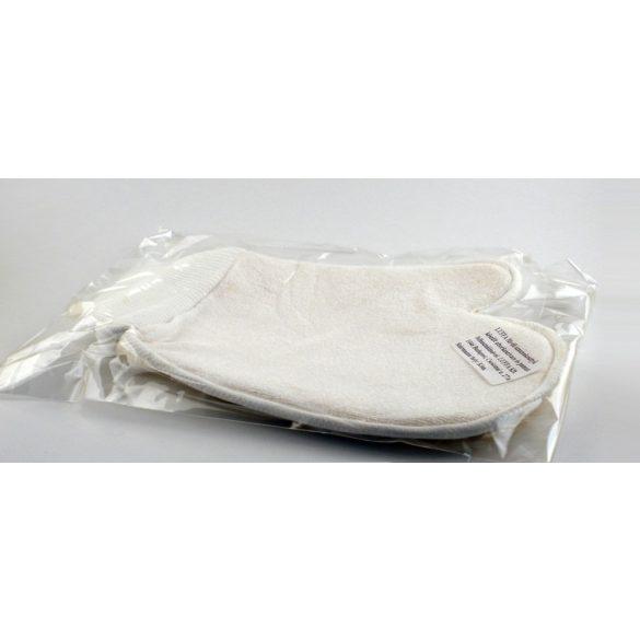 Fürdőkesztyű luffa (uborka), frottír