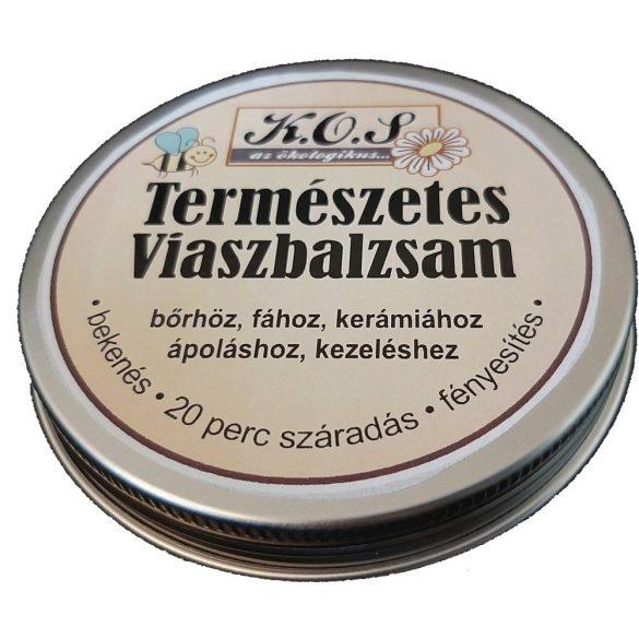 KOS Természetes viaszbalzsam 100 ml