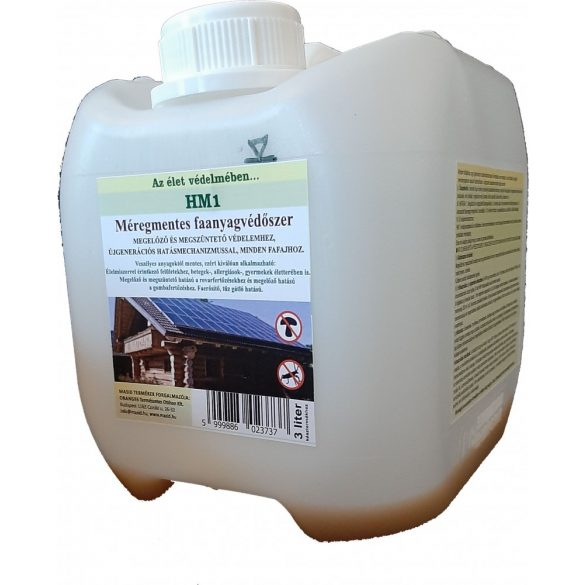 HM1 megelőző FAANYAGVÉDŐSZER MASID 0,3 liter koncentrátum (3 liter késztermékhez)
