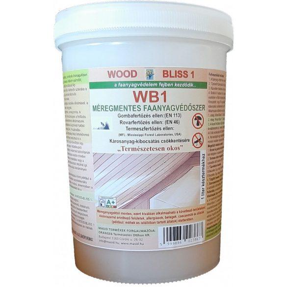 WOODBLISS megszüntető faanyagvédőszer MASID 0,25 liter koncentrátum (1 liter késztermékhez)