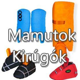 Kirúgók, mamutok (lábvédők)